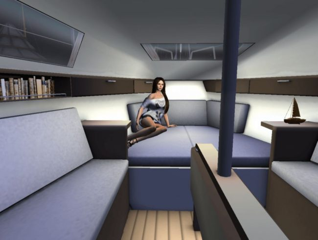 My Yacht in Second Life