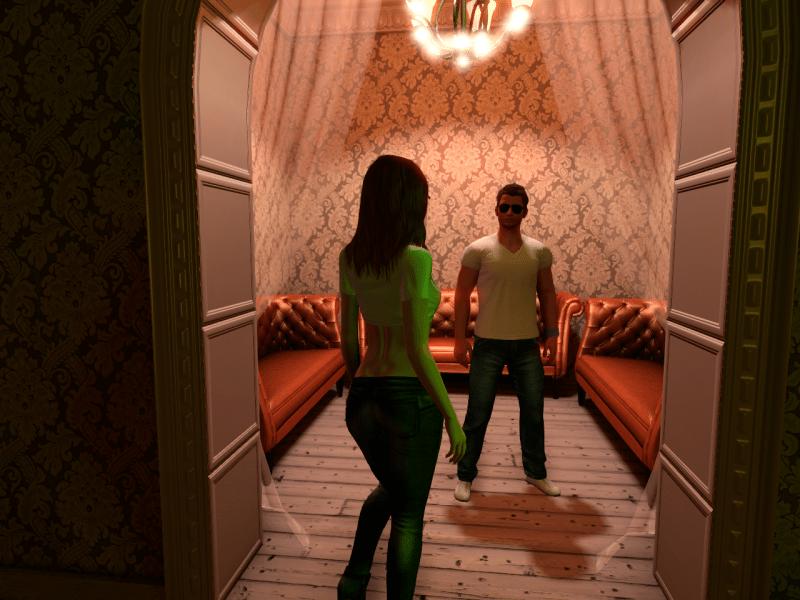 A Visit to 3DXChat Nightclub
