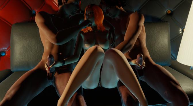 German Swinger Party in 3DXChat