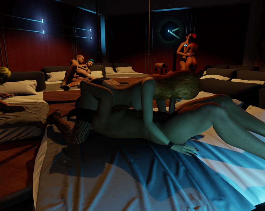Sex Parties in 3DXChat