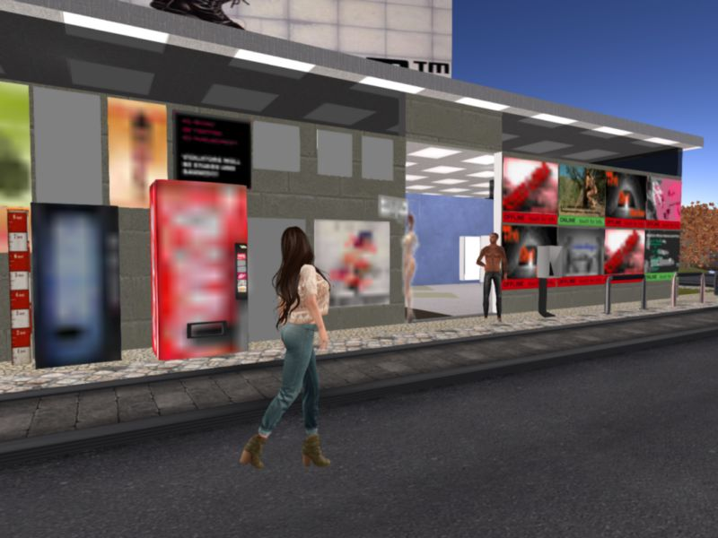 Public Restrooms in Second Life