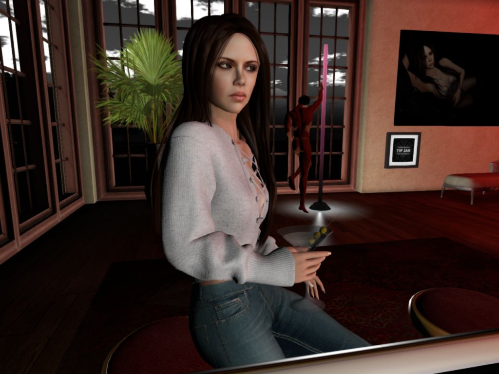 Caroline's Sex Mansion in Second Life is Back on Track