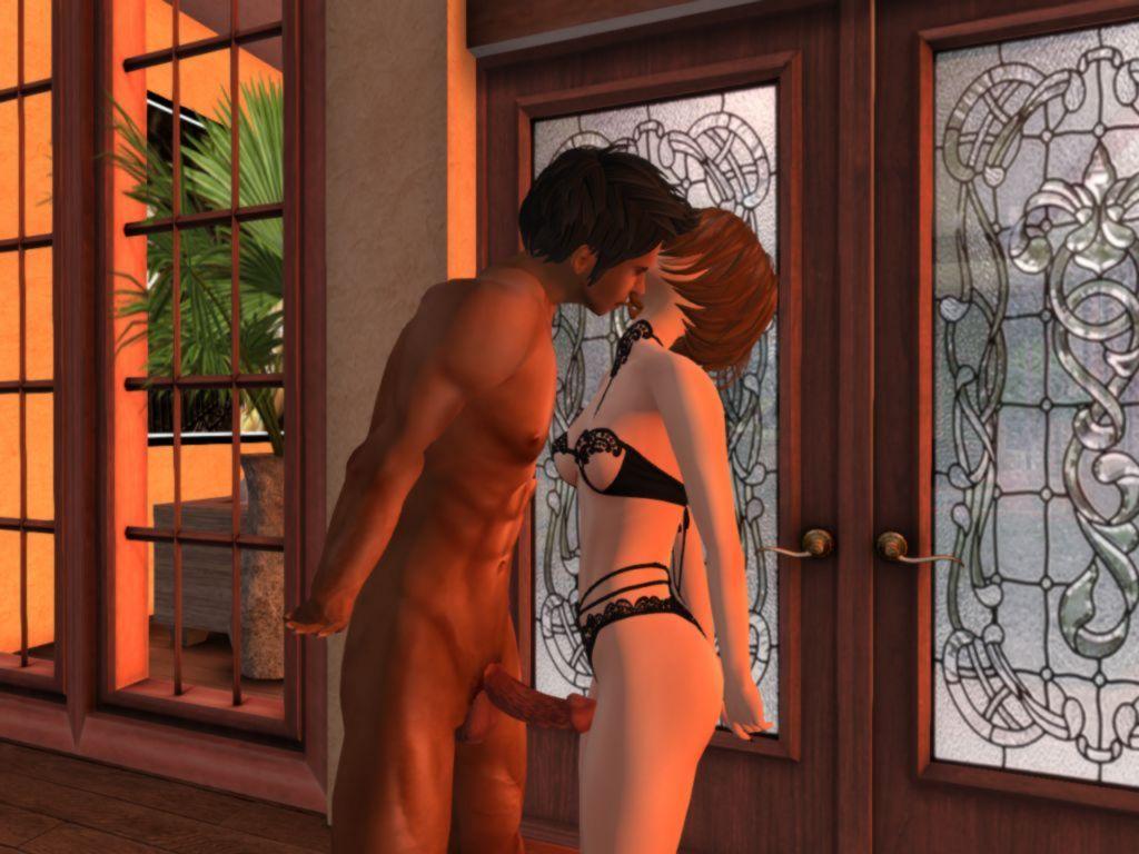Kisses on the Terrace