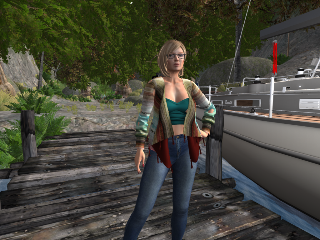 Charleen - Exploring Second Life as a mature woman